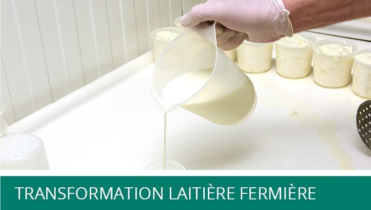 Formation - Transformation laitière fermière