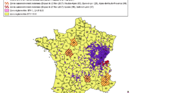 Flash FCO : Situation de la France métropolitaine