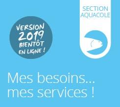 Carte des services | Section Aquacole