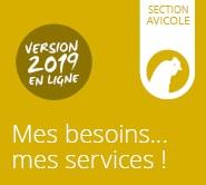 Carte des services | Section Avicole