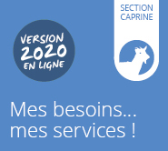 Mes besoins... mes services! Section caprine
