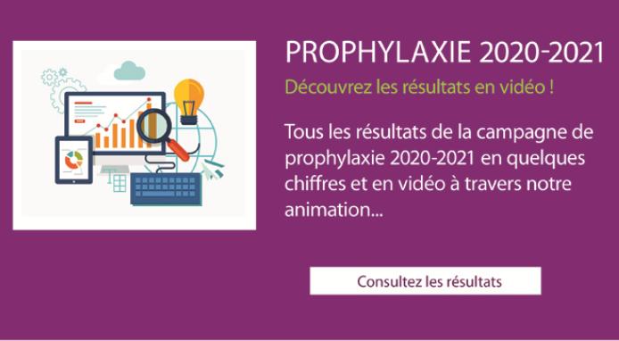 résultats campagne de prophylaxie 2020-2021